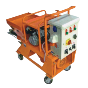 Cement-Plaster Spraying Machines